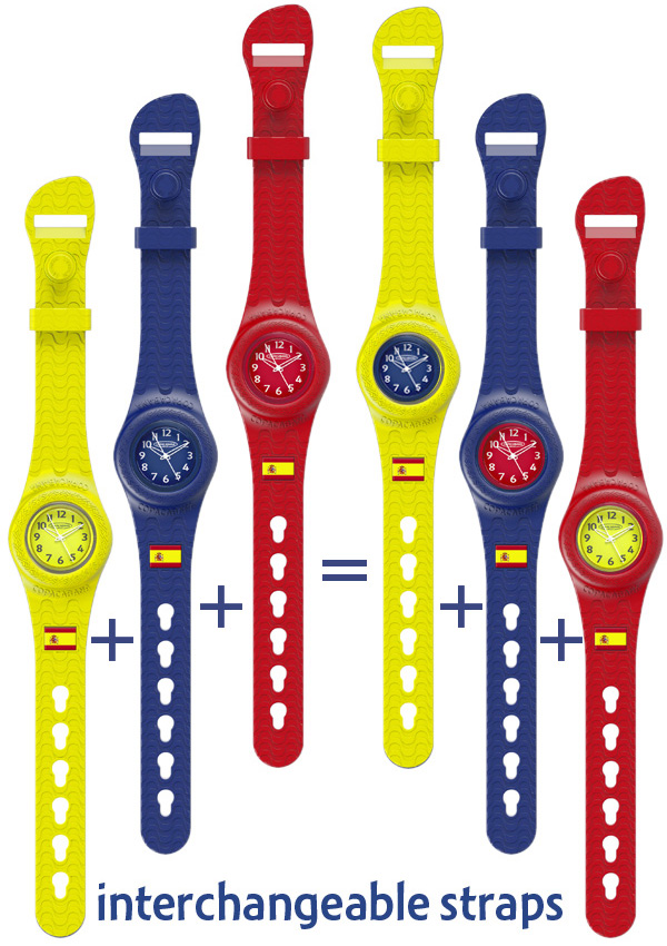 Copacabana interchangeable straps
